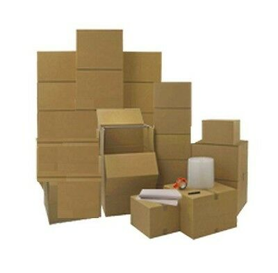 Moving Boxes Wardrobe Kit - 11 Heavy Duty Moving Boxes Packing Supplies