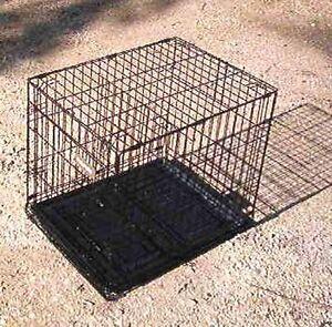 Larger metal pet kennel