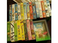 Kids vhs tapes