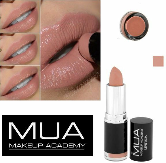 MUA MAKE UP ACADEMY LIPSTICK SHADE 14 ****NUDE BARE NAKED****3.8g
