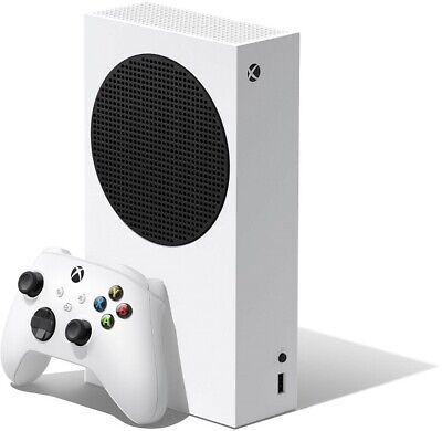 MICROSOFT XBOX SERIES S, 512 GB ALL-DIGITAL CONSOL (DISC-FREE), WHITE *DP* NEW