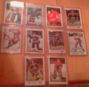 Vintage Hockey And Baseball Cards CHEAP!