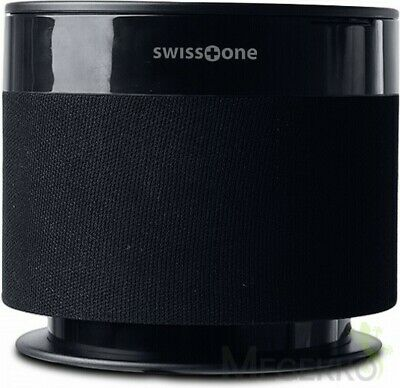Swisstone Dotbox 1 15W speaker upgrade for Echo Dot (2 gen.) - Black