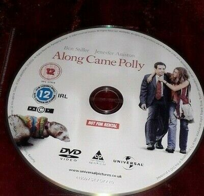 Along Came Polly DVD Ben Stiller Jennifer Aniston. Disc only no case