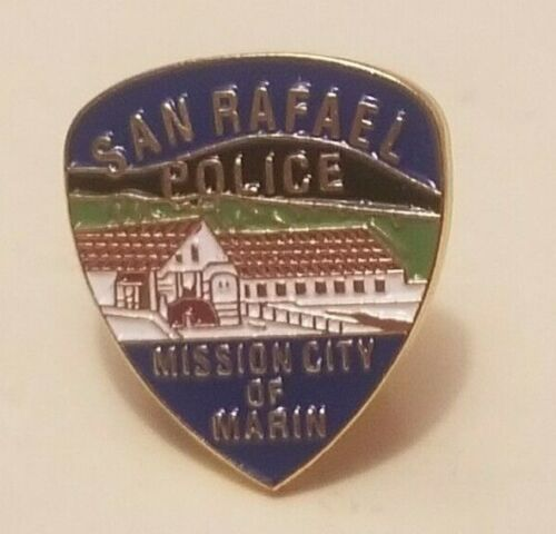San Rafael (CA) Police Department Collector Pin    (A99)