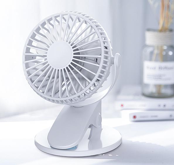 360° Rechargable Oscillating Mini Clip On Desk