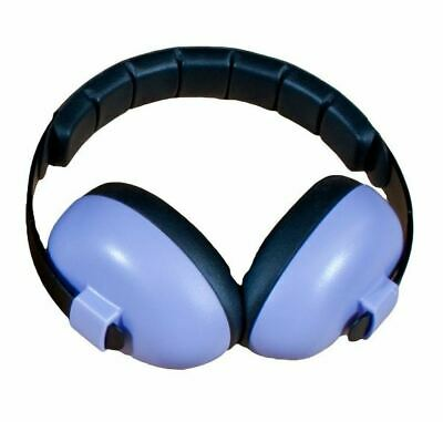 NEW Baby Banz Earmuffs Infant Hearing Protection Ages 0-2+ Years Purple/Black  for sale  Knoxville