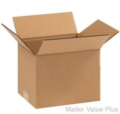 50 - 9 X 9 X 7 Shipping Boxes Packing Moving Cartons Cardboard Mailing Box