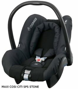 maxi cosi citi sps stone infant car seat group 0 0 28lbs. Black Bedroom Furniture Sets. Home Design Ideas