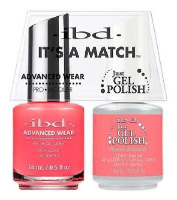 IBD It's a Match GEL & Nail Polish Matching Color Pick - Ibd Color Gel Polish