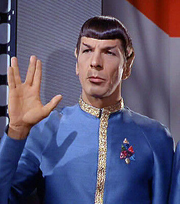 Star Trek TOS Mr Spock Dress Uniform Awards - Mr Spock Uniform