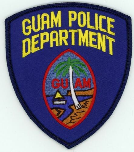 GUAM POLICE DEPARTMENT NEW PATCH SHERIFF STYLE 2 OF 2