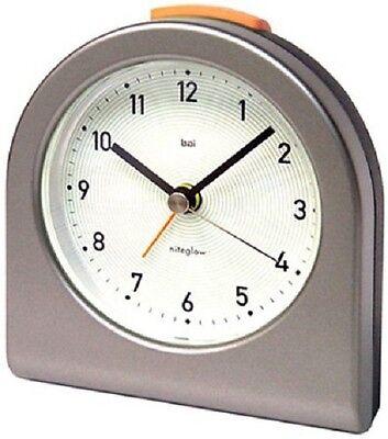 Bai Designer Pick-Me-Up Alarm Clock, Logic White 554. LW