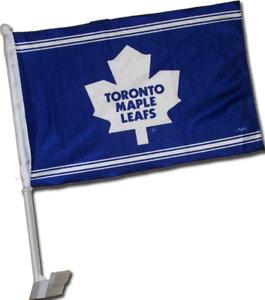 TORONTO MAPLE LEAF CAR FLAGS NHL LICENSED