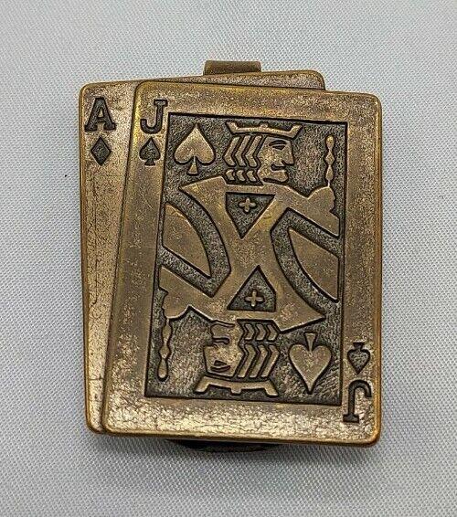 Vintage Anson Blackjack Money Clip Made in USA