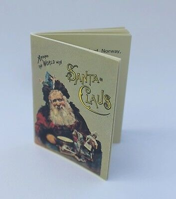 "Lovvbugg Around the World w Santa Real Mini Book Repro for 18"" American Girl Doll"