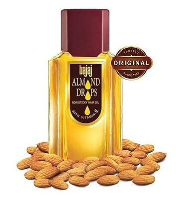 - 300ml  Bajaj Almond Hair Drops Oil Vitamin E Non Sticky Stop Hairfall Loss Cure