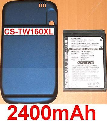 Case + Battery 2400mAh type 35H00078-6 7/12ft HERA160 For T-Mobile Wing US