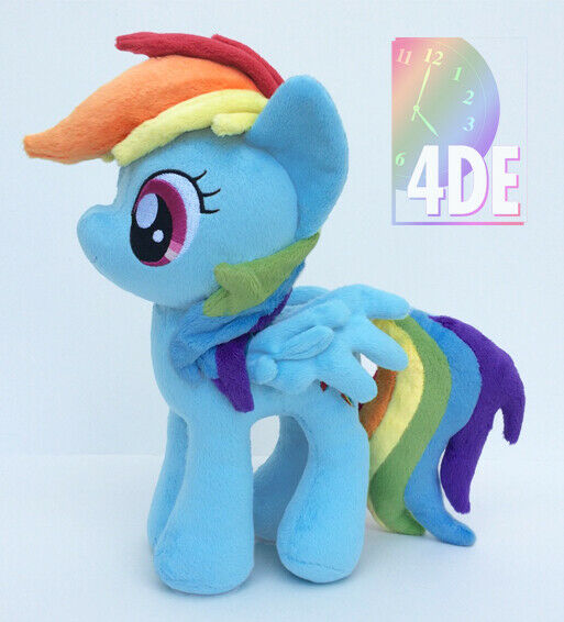"My Little Pony Twilight Sparkle Plush 11/"" 4th Dimension Entertainment Big Wings"