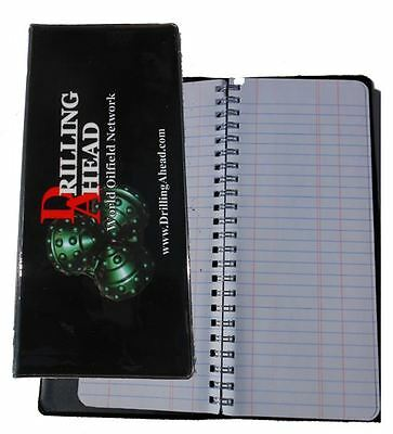 Drill Pipe Tally Book Oilfield Roughneck Drilling Rig Oil Petroleum Driller
