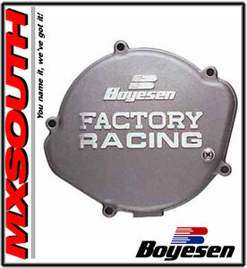 Boyesen-Factory-Ignition-Covers-Kawasaki-KX500-1988-2004-Silver-Black-MX
