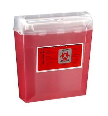 Case Of 24 Bemis Wall Safe 5 Qt. Sharps Containers Model 150-030