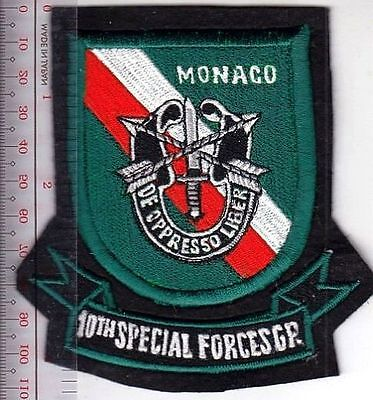 Green Berets US Army Monaco 10th Special Forces Group Airborne ABN TDY Training
