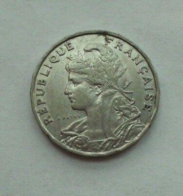 Frankreich  25  Centimes  1904