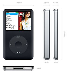 PERFECT Condition iPod Classic - 80GB MUST SELL