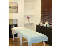 TREATMENT ROOM AVAILABLE TO RENT, for massage therapist, physiotherapist. sports injury massage