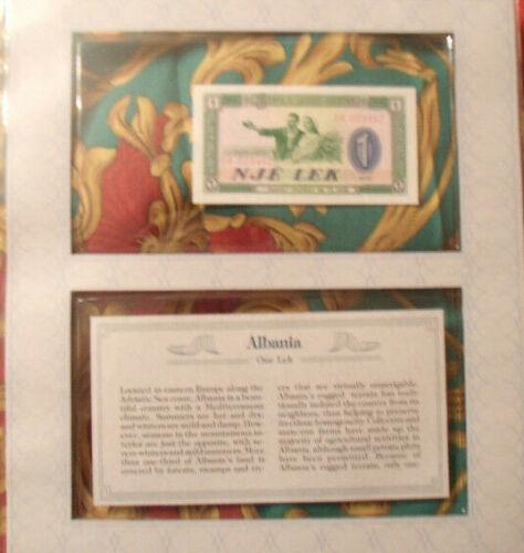 *Most Treasured Banknotes Albania P 40a 1976 1 Lek UNC