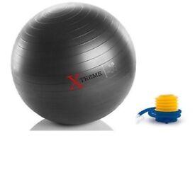 Xtreme fitness anti-burst excercise ball
