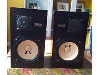 Yamaha NS -10M Studio Monitor/Speakers (Pair).