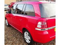(((LOW MILEAGE -78,000 )))**7 SEATER *VAUXHALL ZAFIRA 1.6 (((FACELIFT)))*MPV+ESTATE*MOT- 1 FULL YEAR