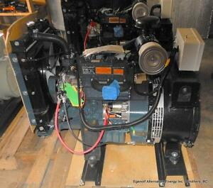 Kubota 9kW Diesel Generator Prince George British Columbia image 1