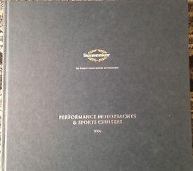 Sunseeker Hardback Brochure Book Catalogue 2006. VGC