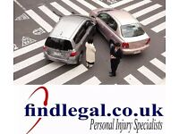 Personal injury fee paid instantly slips trips accidents at work