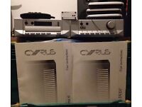 Cyrus 6 and Cyrus DVD7+ as well as a multi room RF Receiver, remotes and manuals. Will accept offers