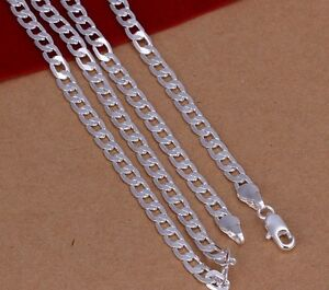 Brand new 4mm sterling silver chain 18inch