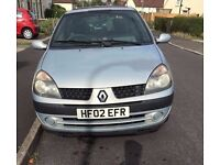 Renault Clio 1.2 (12 month MOT) Recent Clutch+Cambelt+Others
