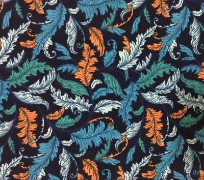 NWT LuLaRoe Leggings ~ TC ~ NAVY Dr Seuss FEATHERS ~ Blue Turquoise Gold - Dr Seuss Leggings