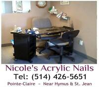 HAVE YOUR NAILS DONE IN RELAXING PRIVACY ~ 25 YRS EXPERIENCE!