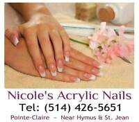 HAVE YOUR NAILS DONE IN RELAXED PRIVACY ~ 25 YRS EXPERIENCE!