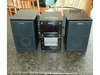 Sony CMT-MD1DX Compact Hi-Fi System