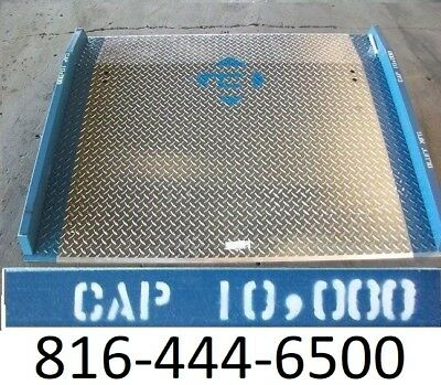 60 X 48 Loading Dock Plate Aluminum 10000 Lb Pallet Truck Board Usa New