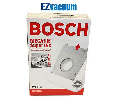 Genuine Bosch Type Vacuum Cleaner Bags Super Tex Bbz51afg1u - 462544