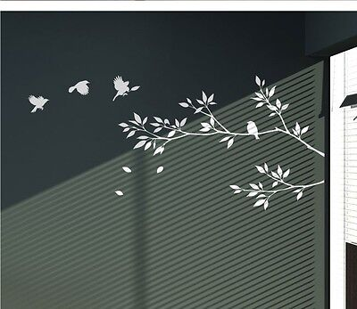 Home Decoration - Love Tree Birds Branch Removable Wall Decal Vinyl Stickers Art Decor Home Mural