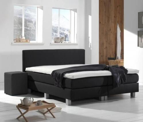 Bed Victory Compleet 140 x 200 Detroit Light Beige €349,- !