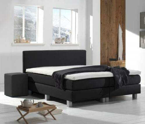 Boxspring Victory 160 x 220 Chicago Blue/Grey €454,80 !!