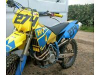 Husaberg 650 Motocross trim sale or swap for a different bike